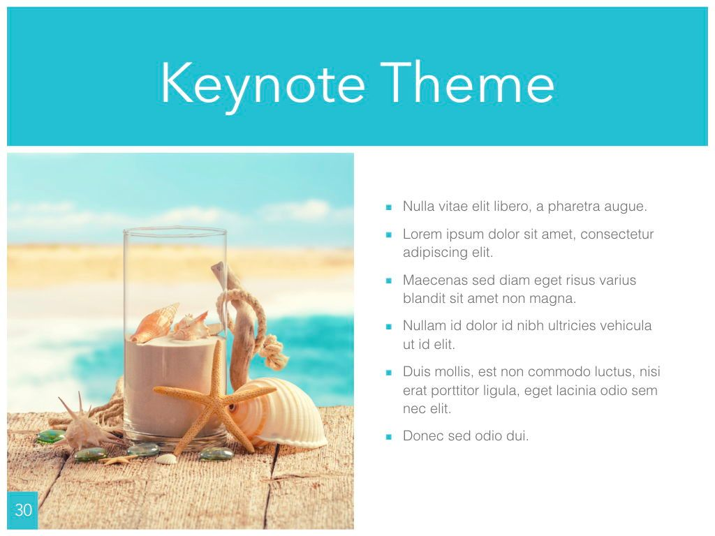 Ocean Safari Keynote Template, Slide 31, 06871, Presentation Templates — PoweredTemplate.com
