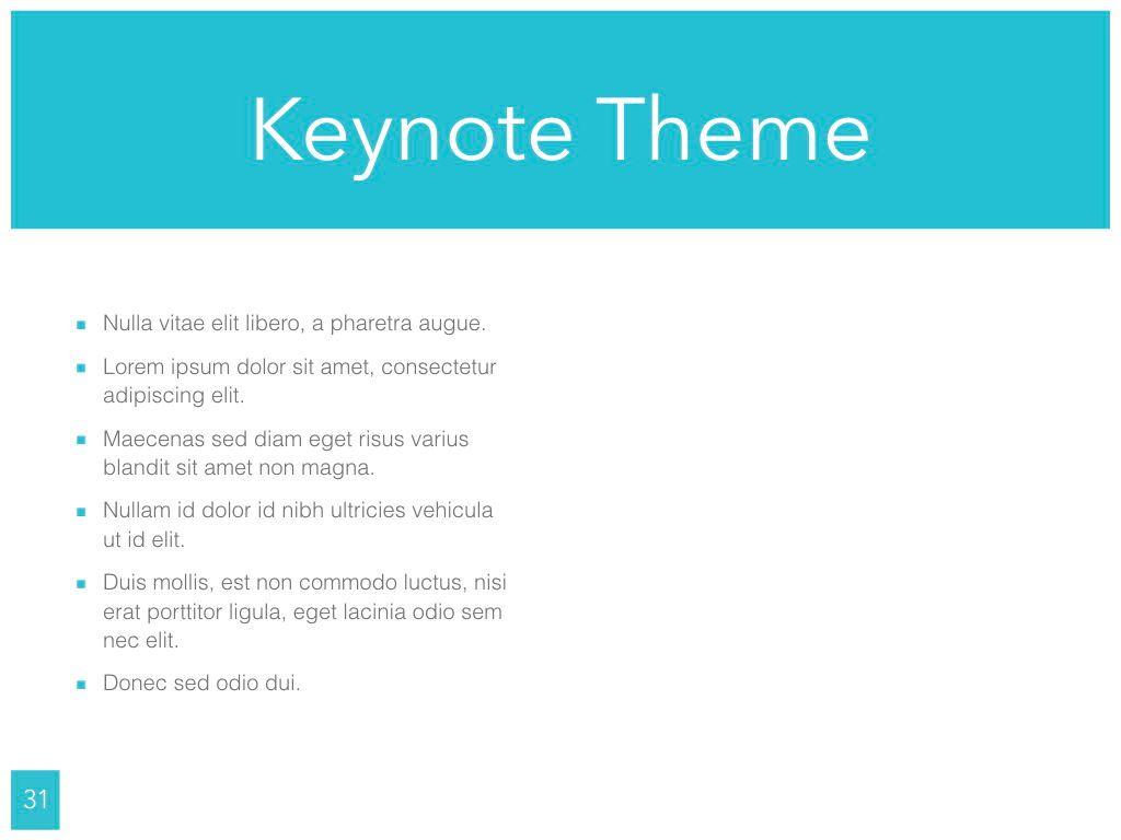 Ocean Safari Keynote Template, Slide 32, 06871, Presentation Templates — PoweredTemplate.com