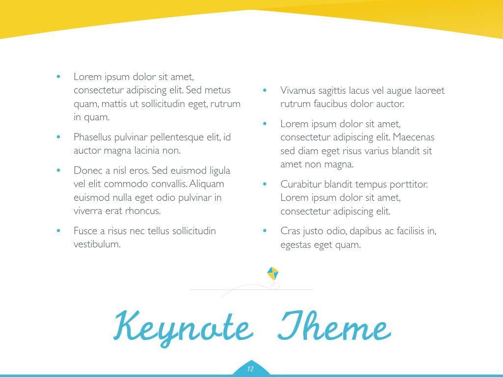 Play Date Keynote Template, Slide 13, 06872, Presentation Templates — PoweredTemplate.com