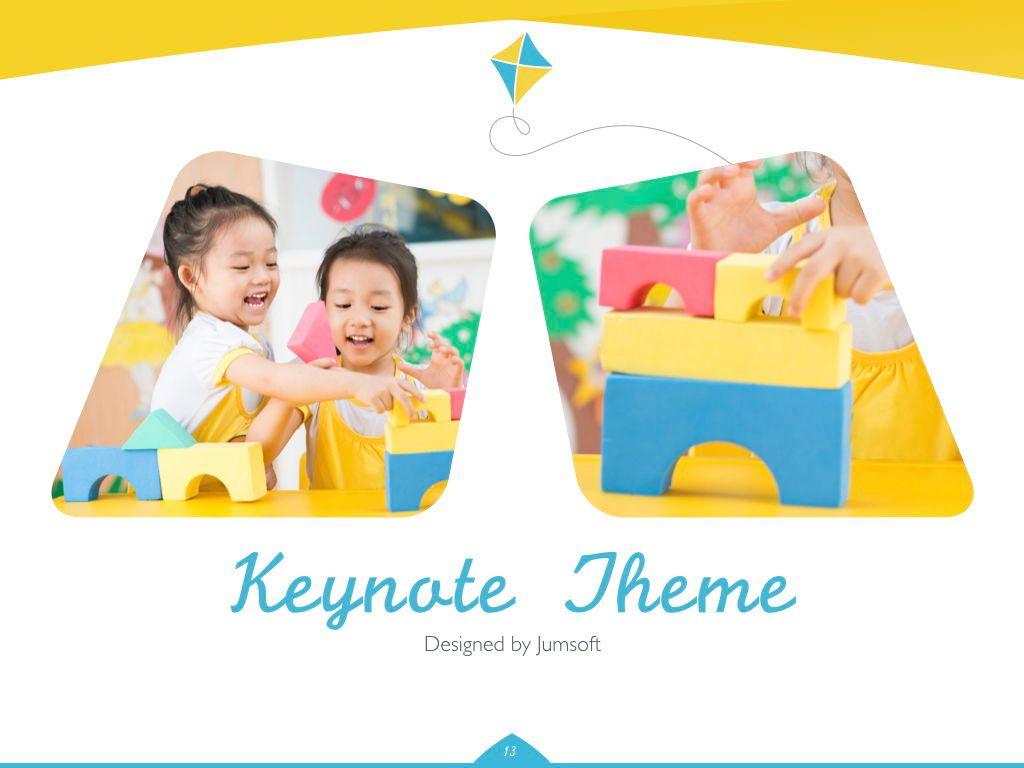 Play Date Keynote Template, Slide 14, 06872, Presentation Templates — PoweredTemplate.com