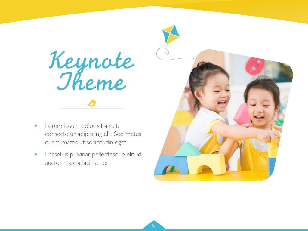 Play Date Keynote Template, Slide 17, 06872, Presentation Templates — PoweredTemplate.com