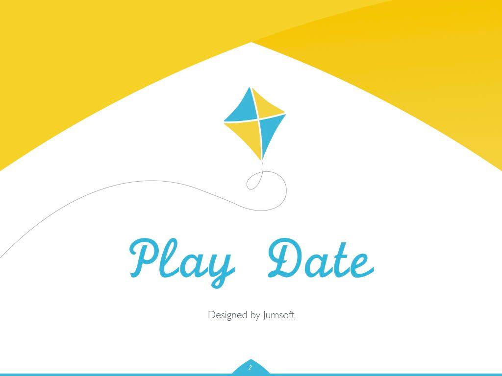 Play Date Keynote Template, Slide 3, 06872, Presentation Templates — PoweredTemplate.com