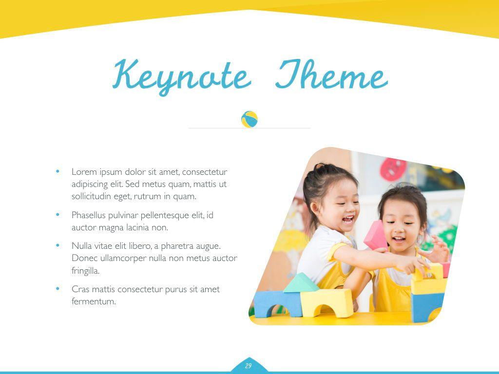 Play Date Keynote Template, Slide 30, 06872, Presentation Templates — PoweredTemplate.com