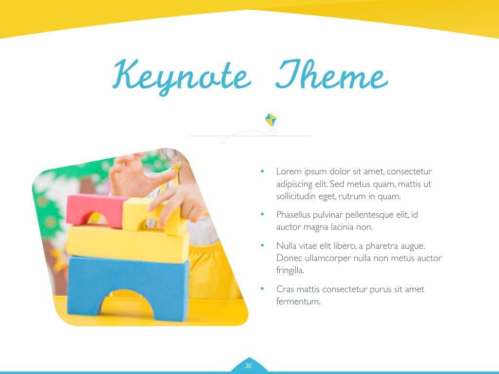 Play Date Keynote Template, Slide 31, 06872, Presentation Templates — PoweredTemplate.com