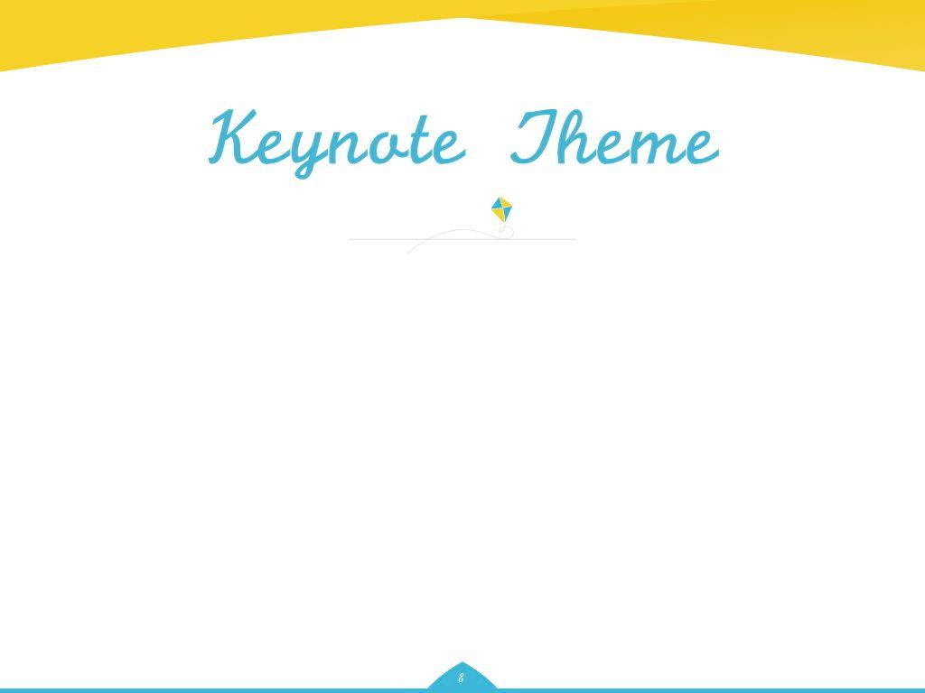Play Date Keynote Template, Slide 9, 06872, Presentation Templates — PoweredTemplate.com