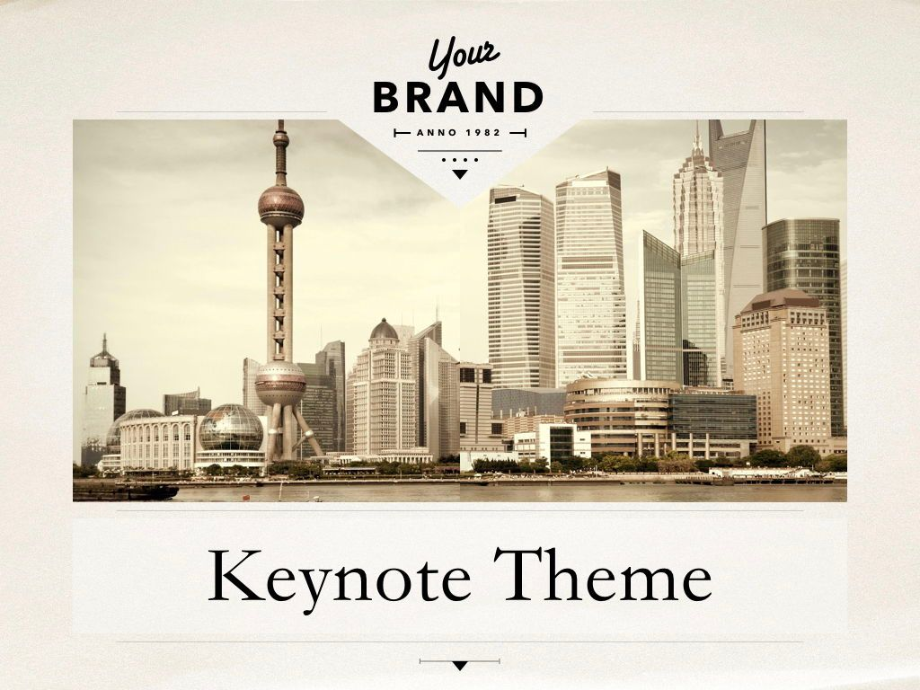 News Report Keynote Template, Slide 14, 06873, Presentation Templates — PoweredTemplate.com