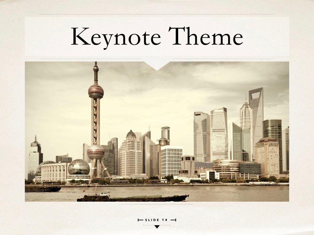 News Report Keynote Template, Slide 15, 06873, Presentation Templates — PoweredTemplate.com