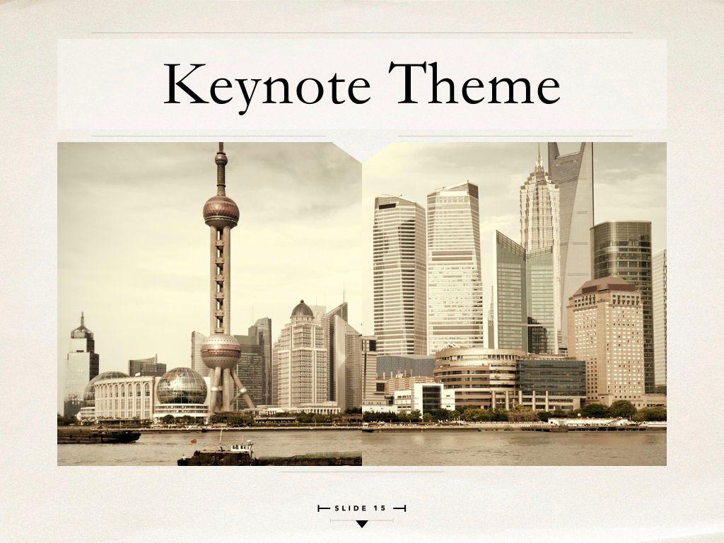News Report Keynote Template, Slide 16, 06873, Presentation Templates — PoweredTemplate.com