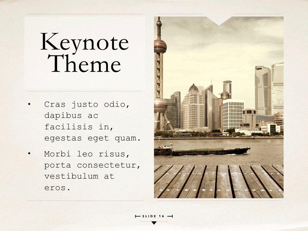 News Report Keynote Template, Slide 17, 06873, Presentation Templates — PoweredTemplate.com
