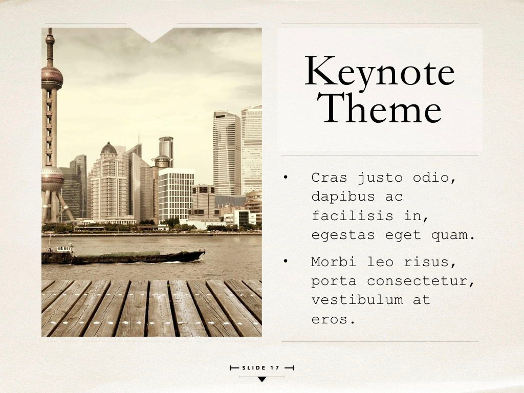 News Report Keynote Template, Slide 18, 06873, Presentation Templates — PoweredTemplate.com