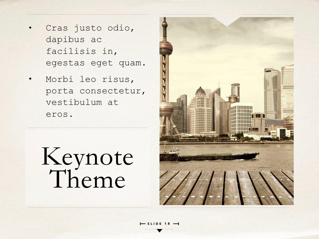 News Report Keynote Template, Slide 19, 06873, Presentation Templates — PoweredTemplate.com