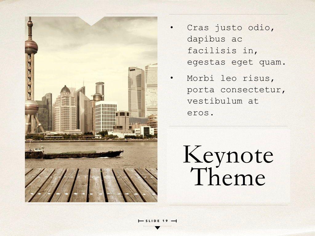 News Report Keynote Template, Slide 20, 06873, Presentation Templates — PoweredTemplate.com