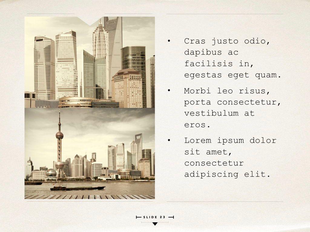 News Report Keynote Template, Slide 24, 06873, Presentation Templates — PoweredTemplate.com
