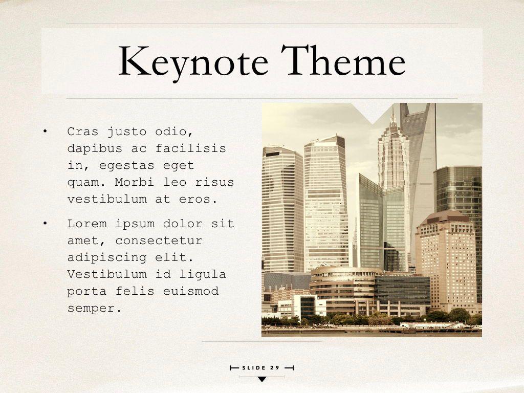 News Report Keynote Template, Slide 30, 06873, Presentation Templates — PoweredTemplate.com