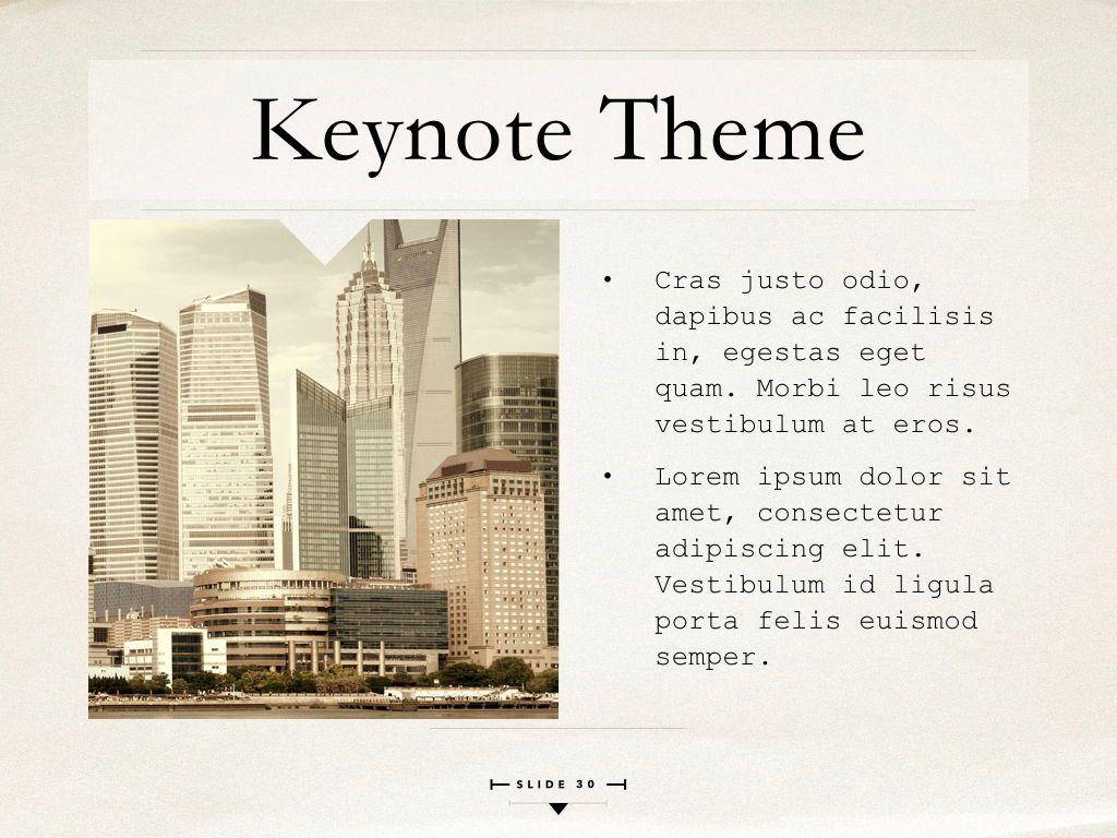 News Report Keynote Template, Slide 31, 06873, Presentation Templates — PoweredTemplate.com