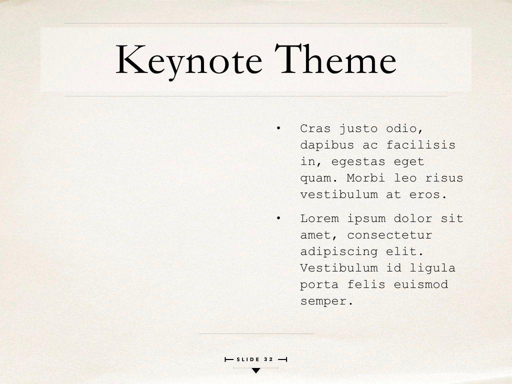 News Report Keynote Template, Slide 33, 06873, Presentation Templates — PoweredTemplate.com