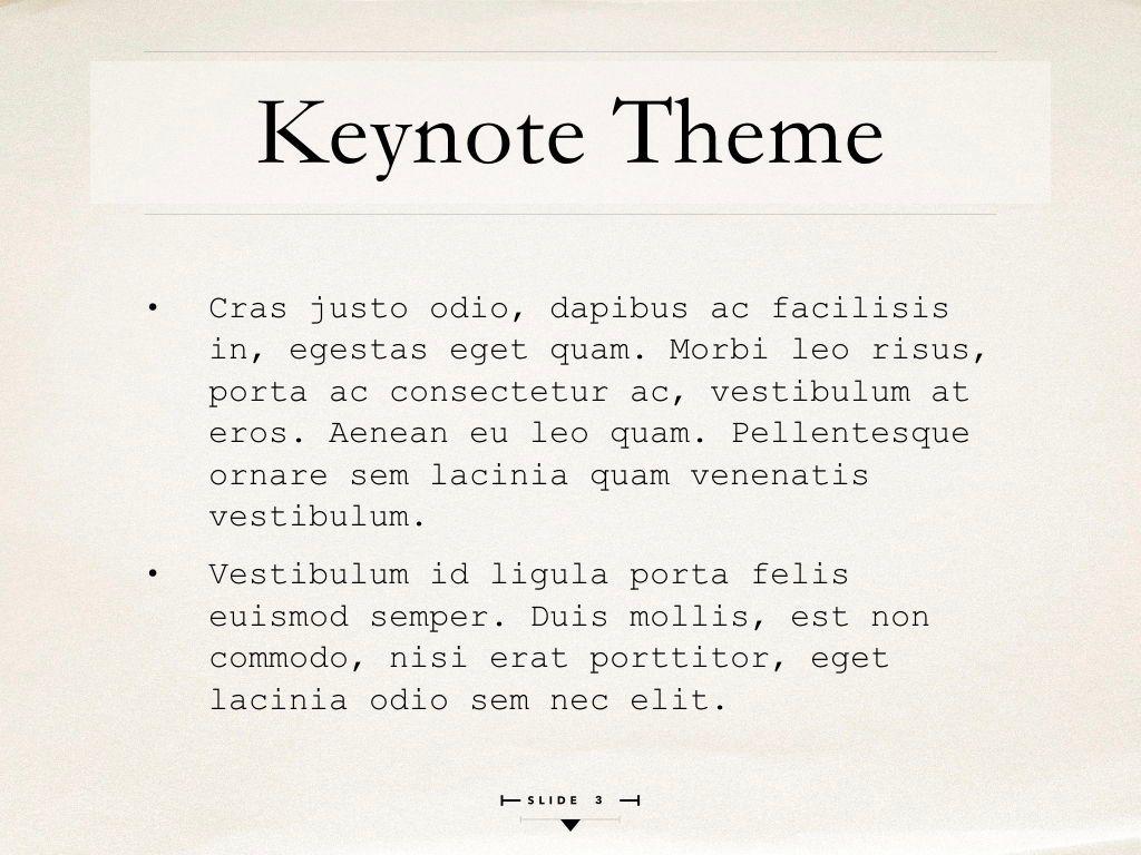 News Report Keynote Template, Slide 4, 06873, Presentation Templates — PoweredTemplate.com