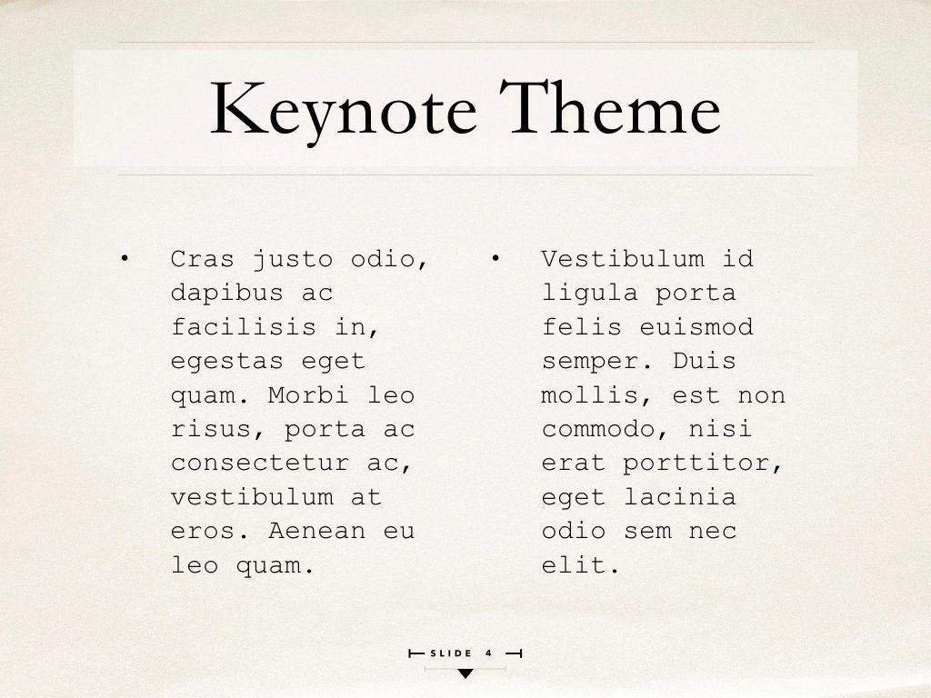 News Report Keynote Template, Slide 5, 06873, Presentation Templates — PoweredTemplate.com