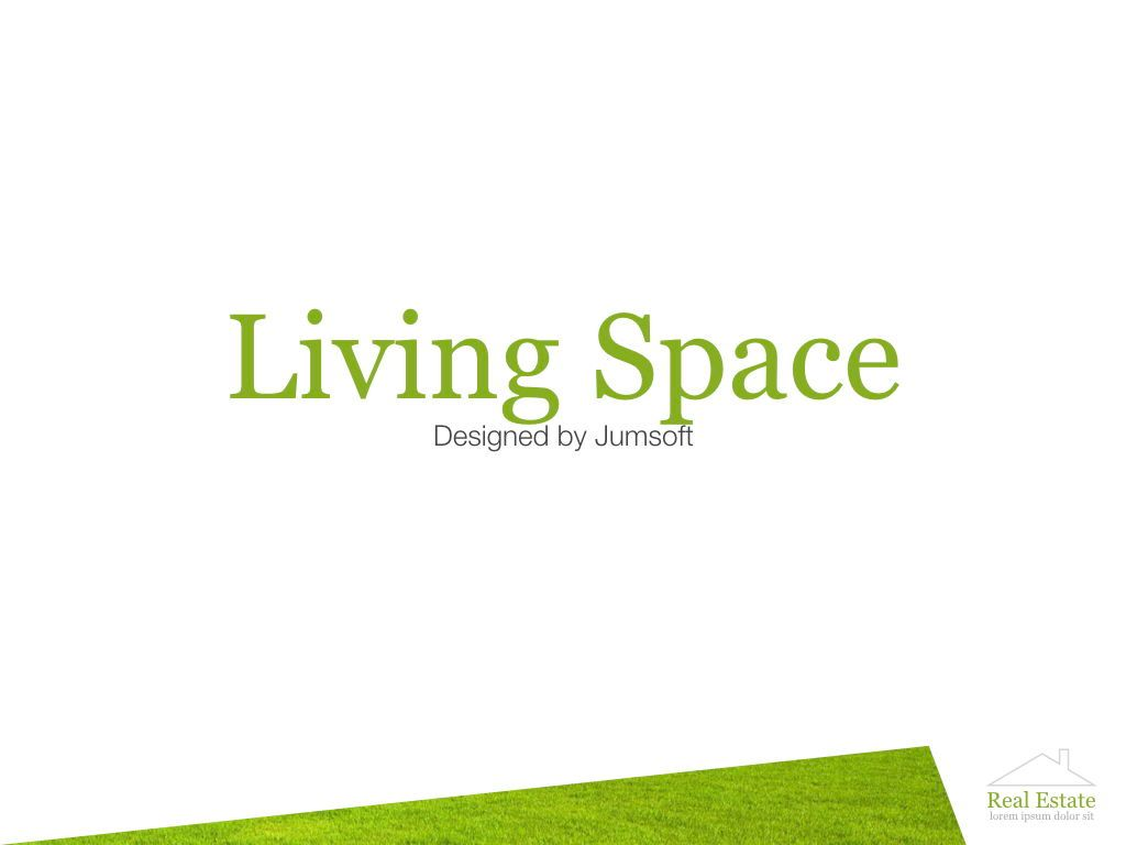 Living Space Keynote Template, Slide 10, 06874, Presentation Templates — PoweredTemplate.com