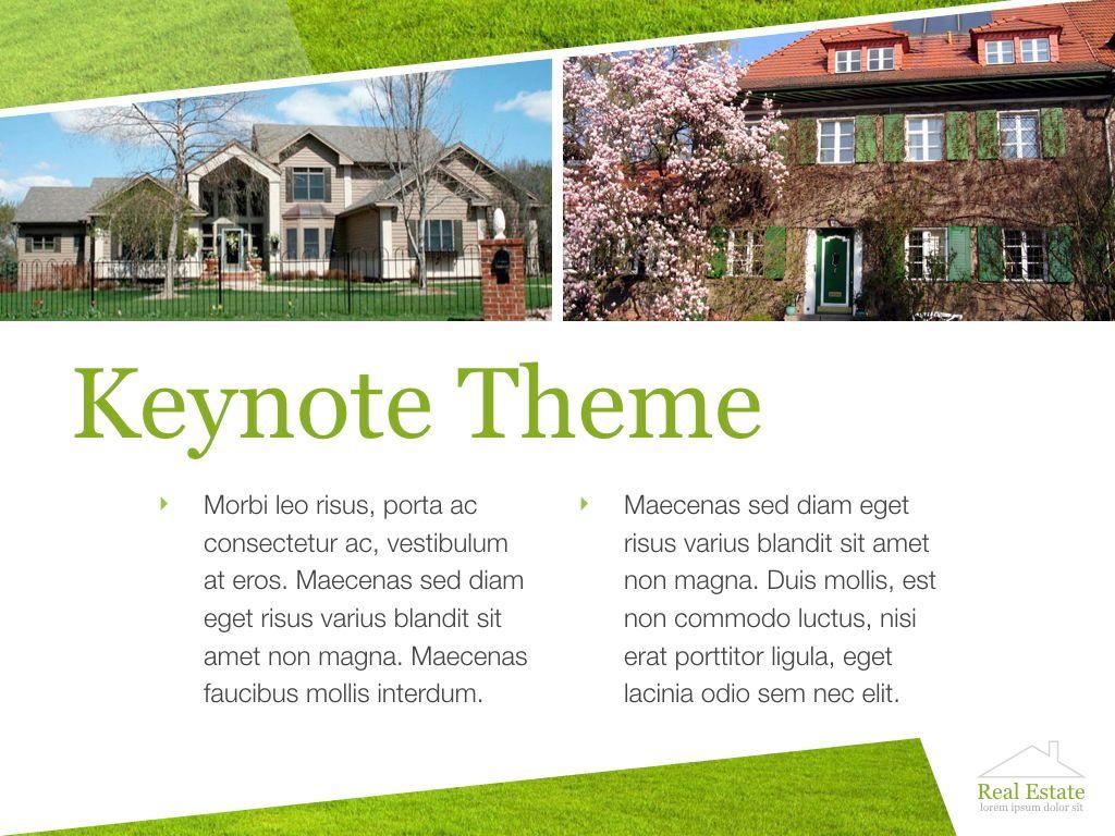 Living Space Keynote Template, Slide 13, 06874, Presentation Templates — PoweredTemplate.com