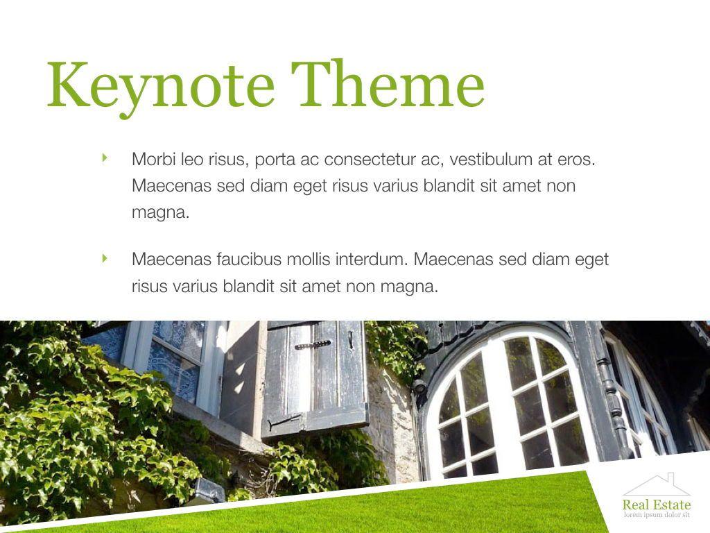 Living Space Keynote Template, Slide 14, 06874, Presentation Templates — PoweredTemplate.com