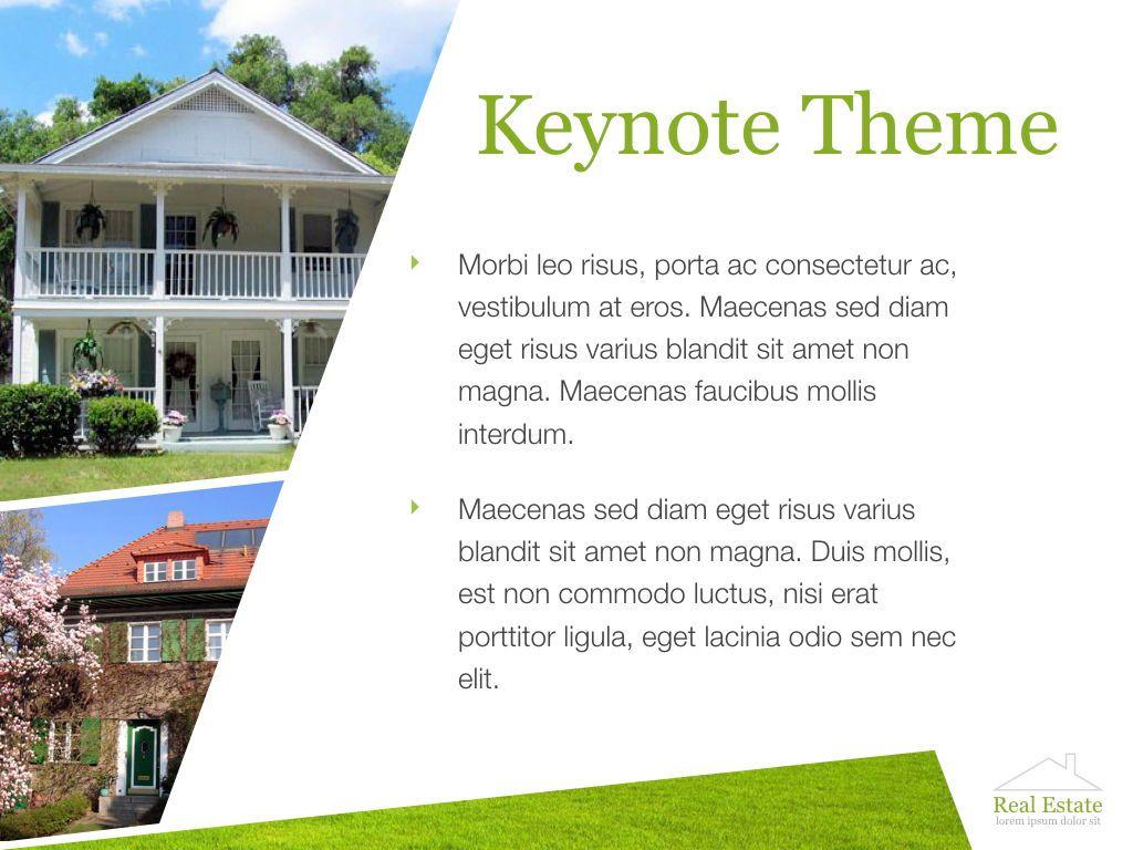 Living Space Keynote Template, Slide 16, 06874, Presentation Templates — PoweredTemplate.com