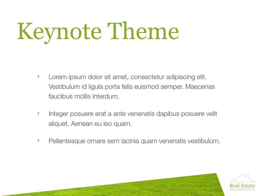 Living Space Keynote Template, Slide 3, 06874, Presentation Templates — PoweredTemplate.com