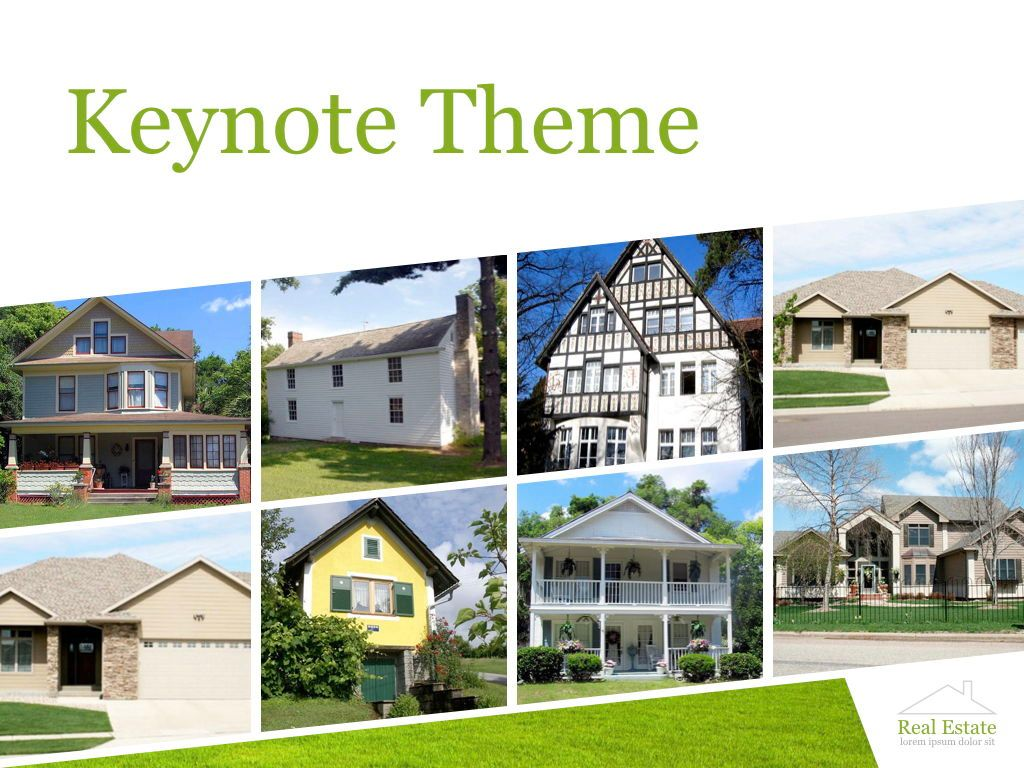 Living Space Keynote Template, Slide 30, 06874, Presentation Templates — PoweredTemplate.com