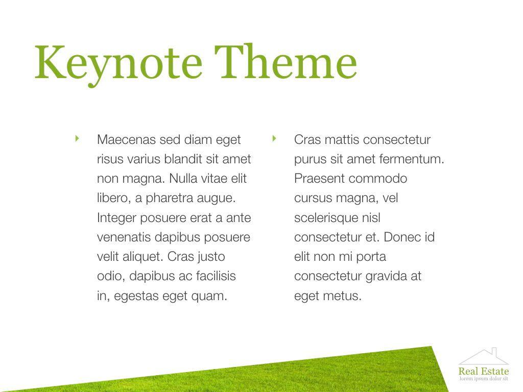Living Space Keynote Template, Slide 4, 06874, Presentation Templates — PoweredTemplate.com