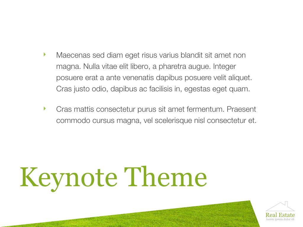 Living Space Keynote Template, Slide 8, 06874, Presentation Templates — PoweredTemplate.com