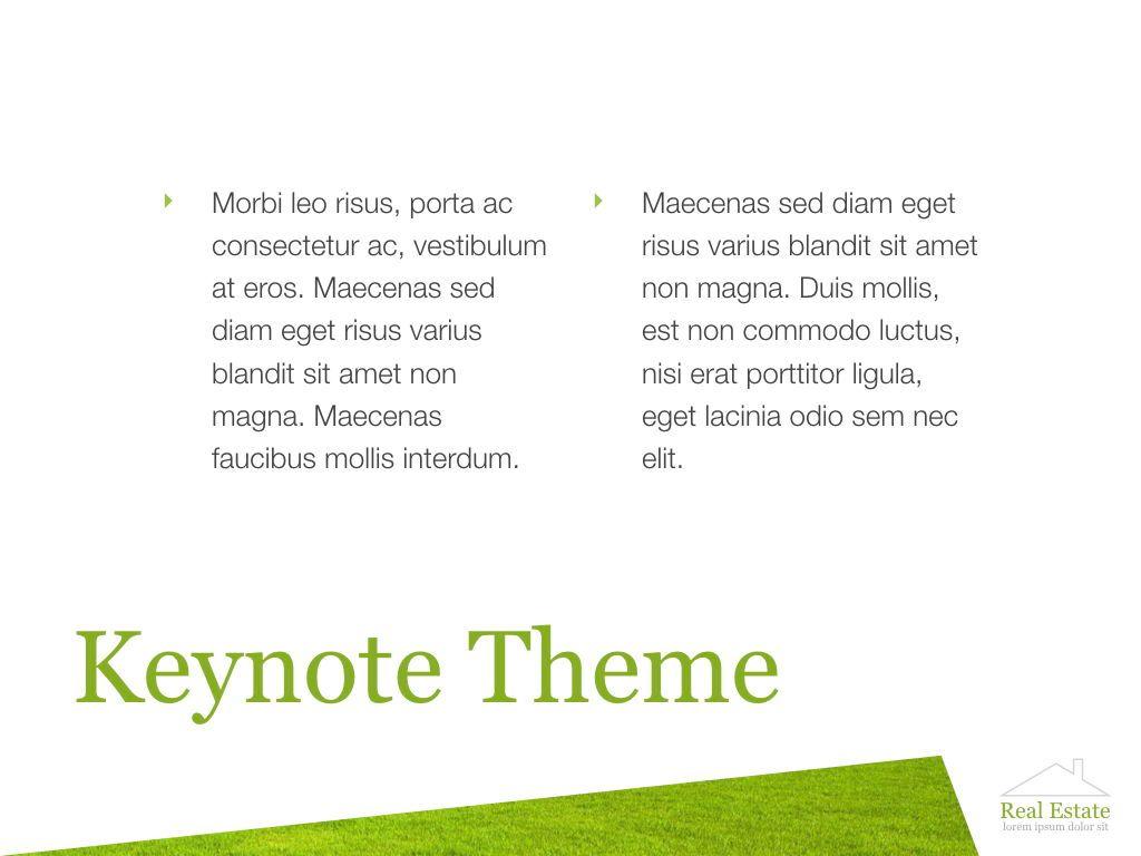 Living Space Keynote Template, Slide 9, 06874, Presentation Templates — PoweredTemplate.com