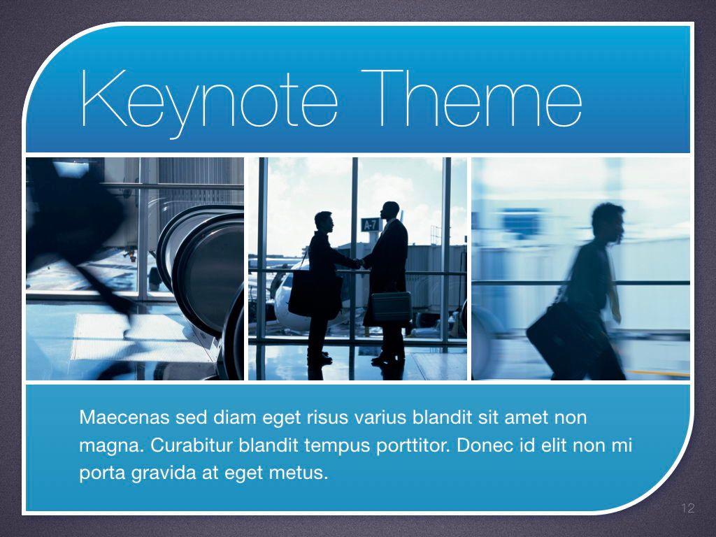 Sky Blue Keynote Template, Slide 13, 06875, Presentation Templates — PoweredTemplate.com