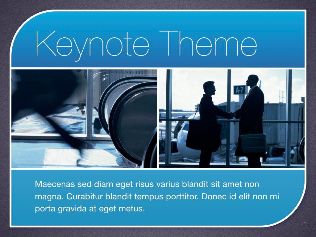 Sky Blue Keynote Template, Slide 14, 06875, Presentation Templates — PoweredTemplate.com