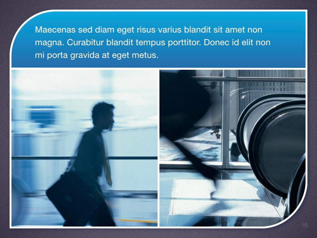 Sky Blue Keynote Template, Slide 16, 06875, Presentation Templates — PoweredTemplate.com