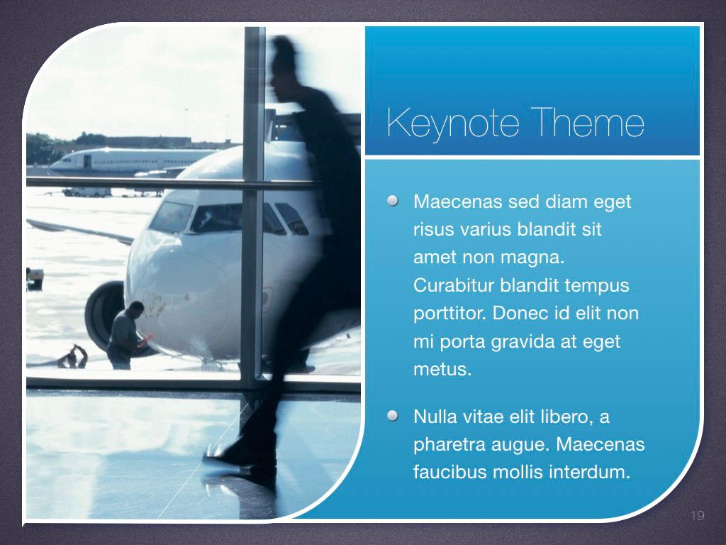 Sky Blue Keynote Template, Slide 20, 06875, Presentation Templates — PoweredTemplate.com