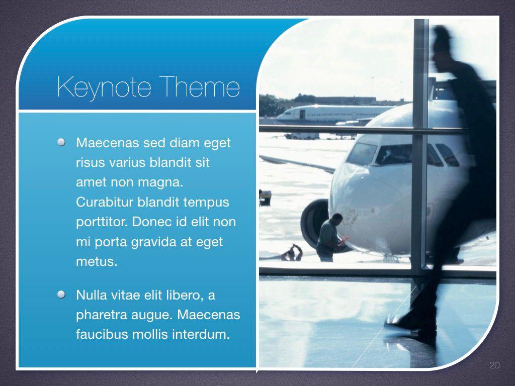 Sky Blue Keynote Template, Slide 21, 06875, Presentation Templates — PoweredTemplate.com