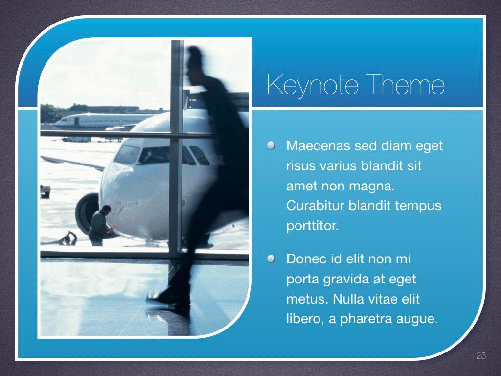 Sky Blue Keynote Template, Slide 26, 06875, Presentation Templates — PoweredTemplate.com