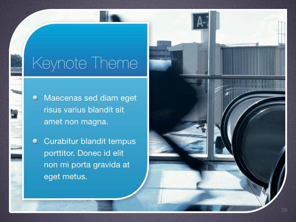 Sky Blue Keynote Template, Slide 30, 06875, Presentation Templates — PoweredTemplate.com