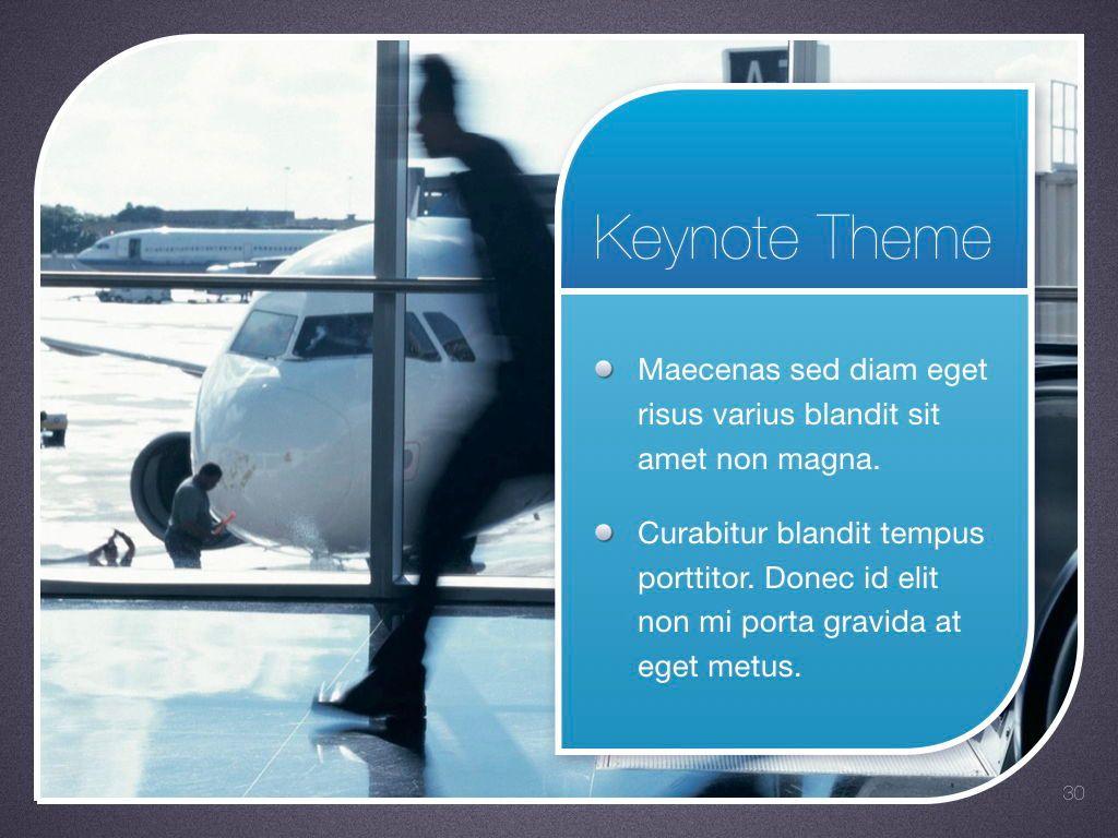 Sky Blue Keynote Template, Slide 31, 06875, Presentation Templates — PoweredTemplate.com