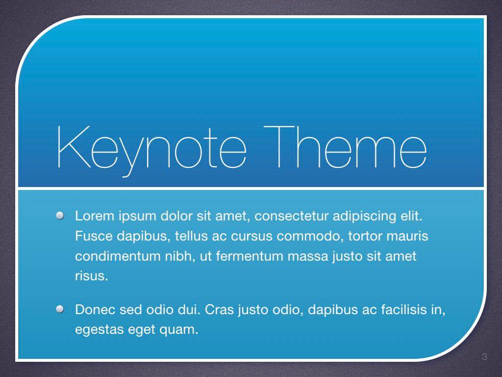 Sky Blue Keynote Template, Slide 4, 06875, Presentation Templates — PoweredTemplate.com