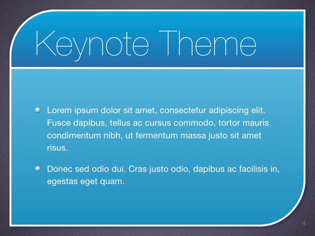 Sky Blue Keynote Template, Slide 5, 06875, Presentation Templates — PoweredTemplate.com
