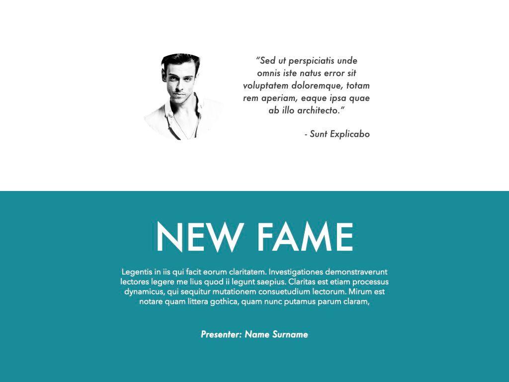 New Fame Google Slides Presentation Template, Slide 12, 06881, Presentation Templates — PoweredTemplate.com