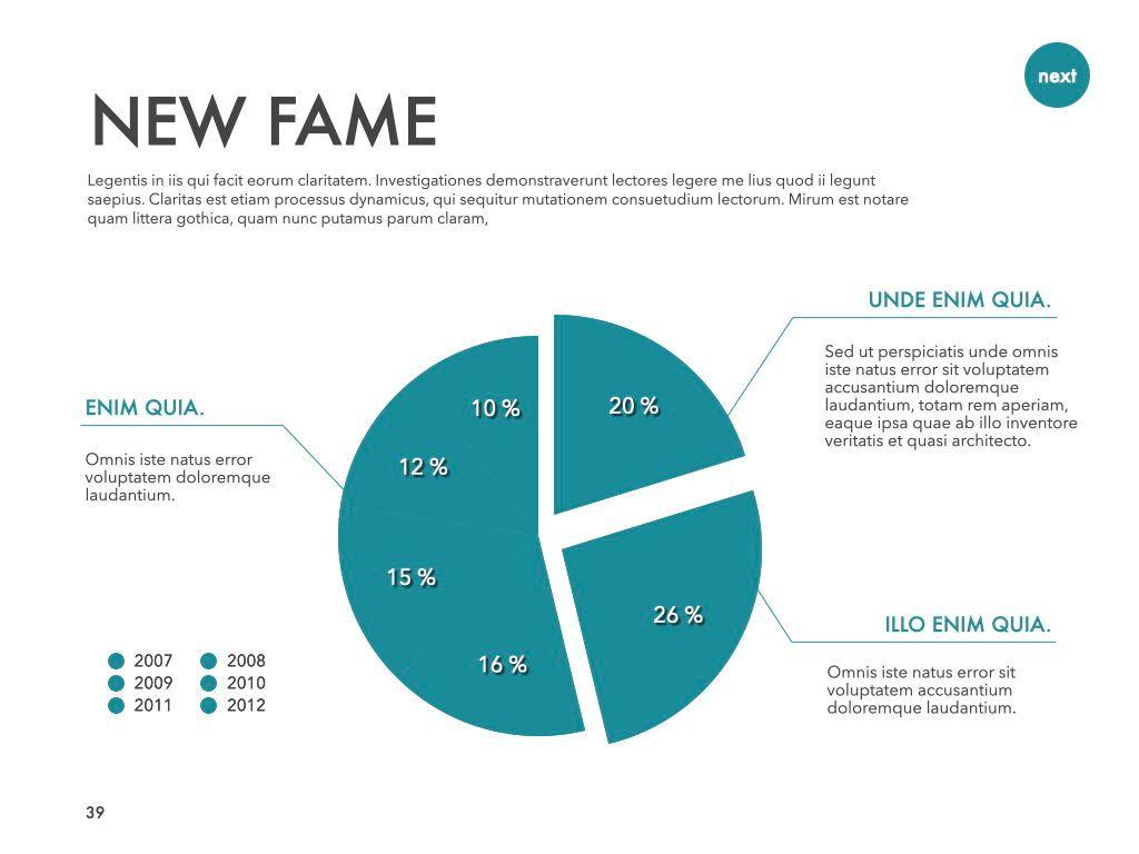 New Fame Google Slides Presentation Template, Slide 35, 06881, Presentation Templates — PoweredTemplate.com