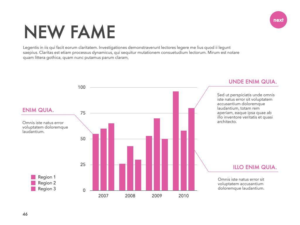 New Fame Google Slides Presentation Template, Slide 42, 06881, Presentation Templates — PoweredTemplate.com