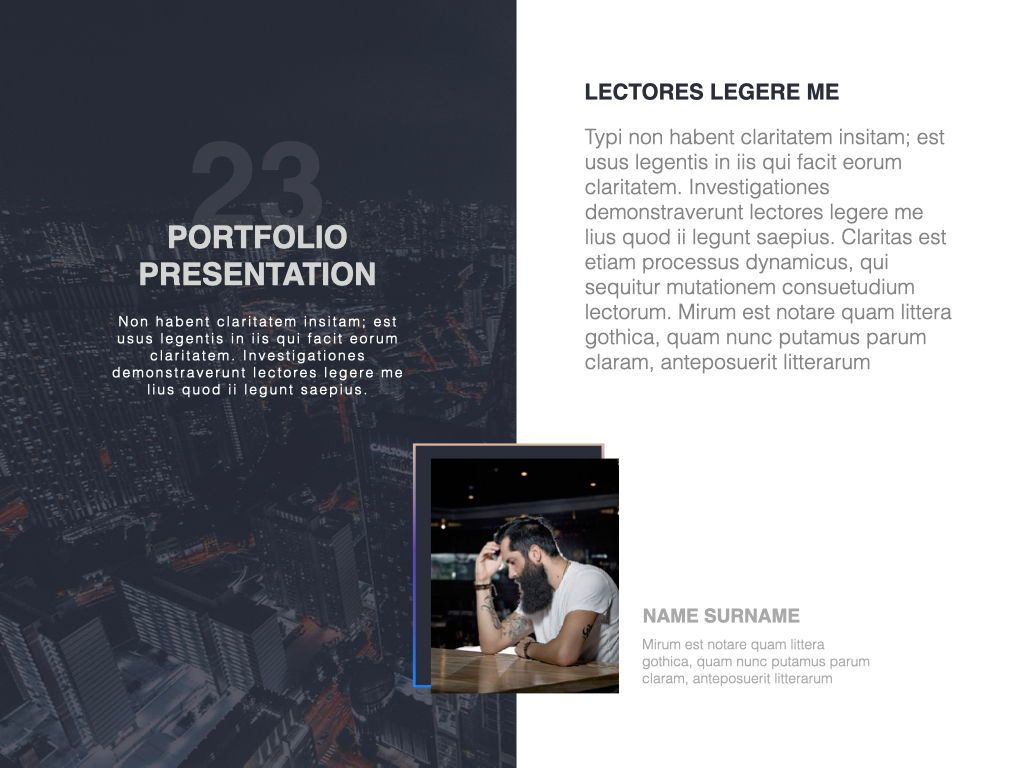 Startup Google Slides Presentation Template, Slide 17, 06890, Presentation Templates — PoweredTemplate.com