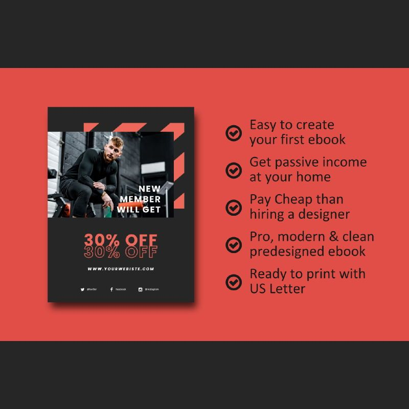 Fitness ebook meal planner powerpoint presentation template, Slide 8, 06894, Presentation Templates — PoweredTemplate.com