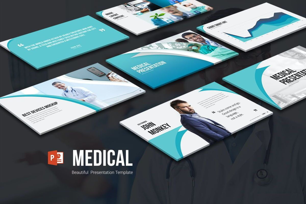 Medical PowerPoint Presentation, 06898, Medical Diagrams and Charts — PoweredTemplate.com