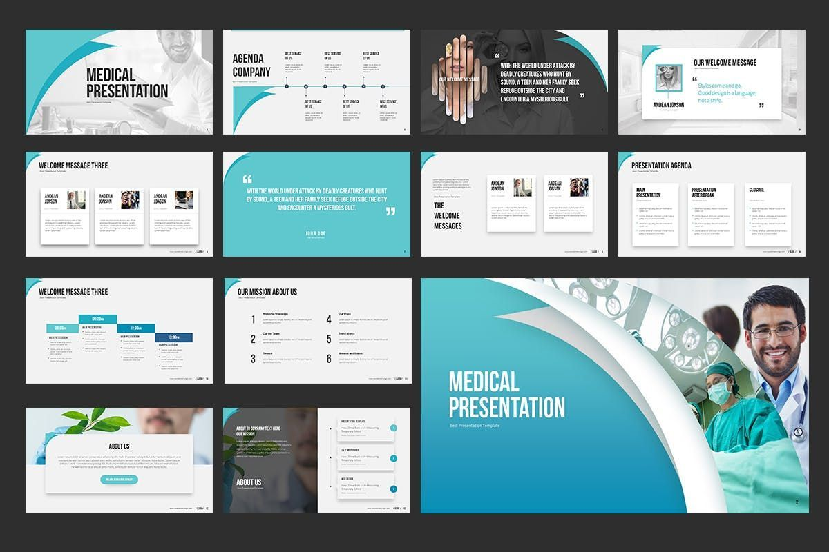 Medical PowerPoint Presentation, Slide 2, 06898, Medical Diagrams and Charts — PoweredTemplate.com