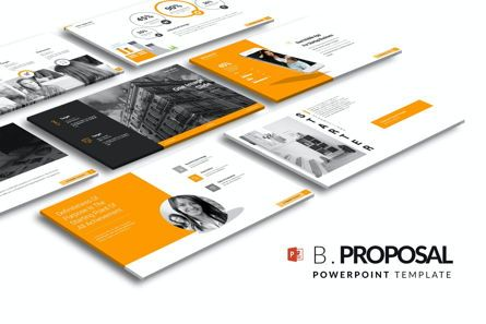 Business Models: Business Proposal PowerPoint Template #06901