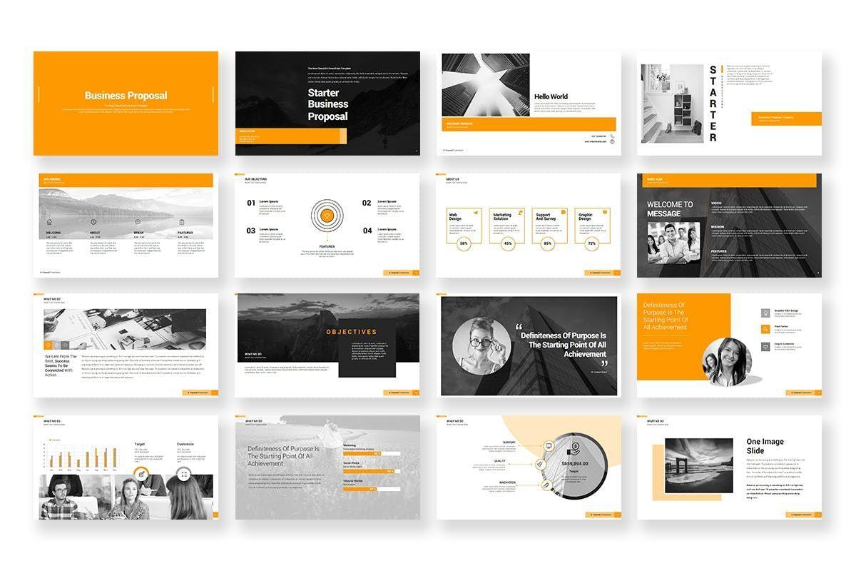 Business Proposal PowerPoint Template, Slide 2, 06901, Business Models — PoweredTemplate.com